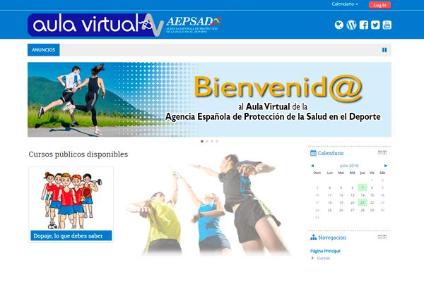 Aula Virtual AEPSAD