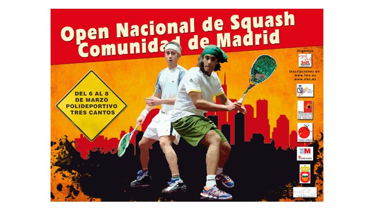 Carteleria Federación Madrileña de Squash